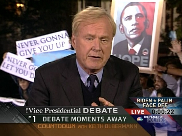 VP Debate Rickrolled