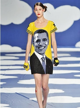 Obama on the Runway