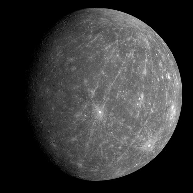 NASA's Mercury Messenger Photos
