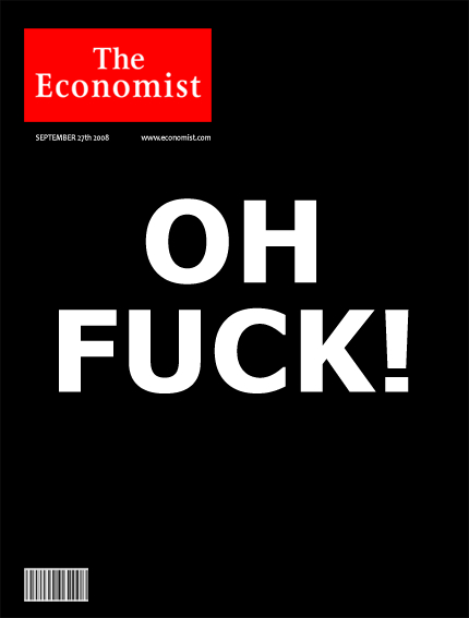 The Cover of The Economist