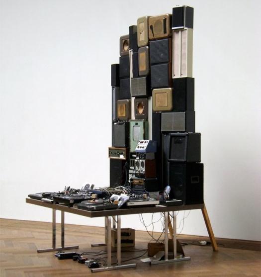 Junkyard Sound Sculpture
