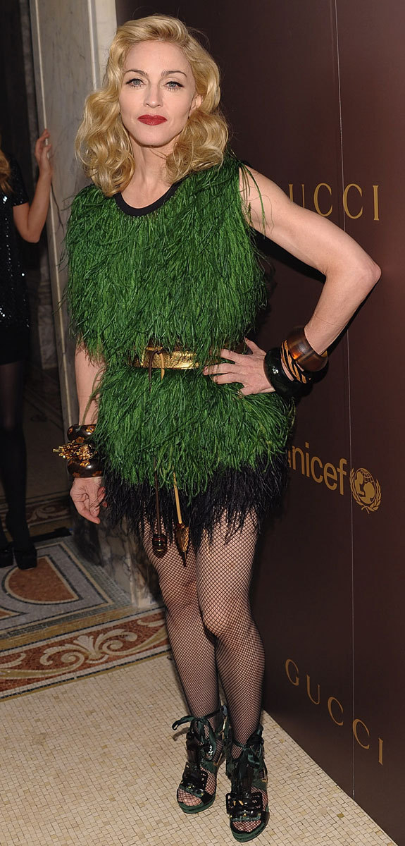 Madonna as Peter Pan
