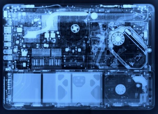 MacBook X-Ray