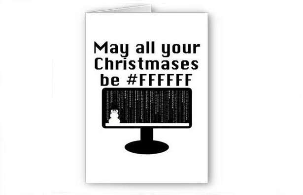Holiday Cards for Geeks