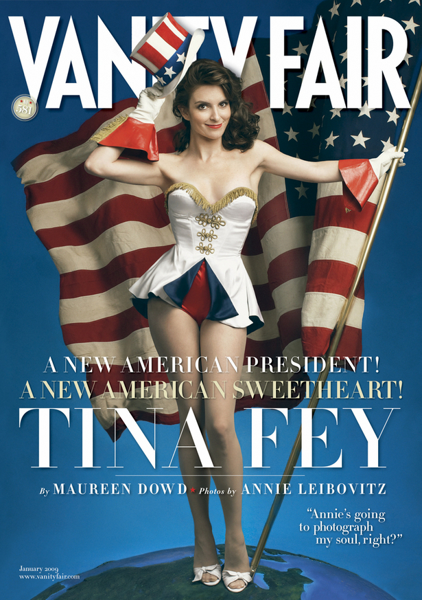 Tiny Fey on Vanity Fair