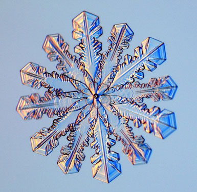 Snowflakes As You've Never Seen Them Before