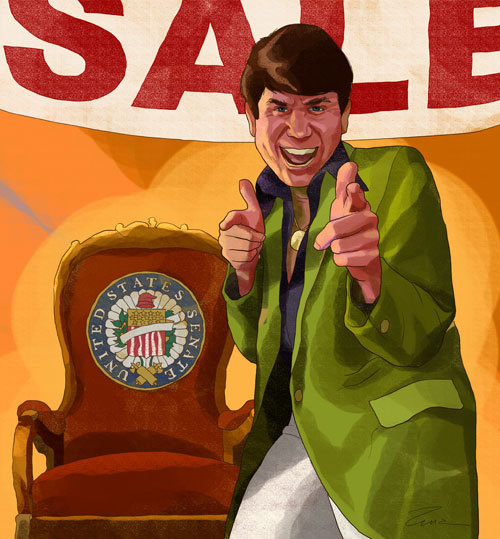 Rod Blagojevich, Illustrated