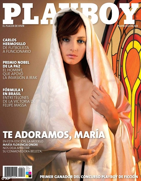 Playboy Apologizes for Nude Virgin Mary