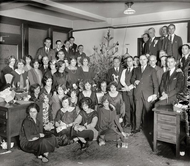 Office Party, 1925
