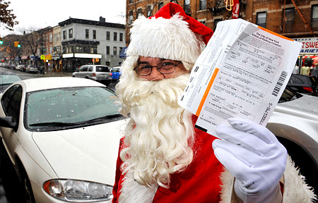 Santa's Parking Ticket