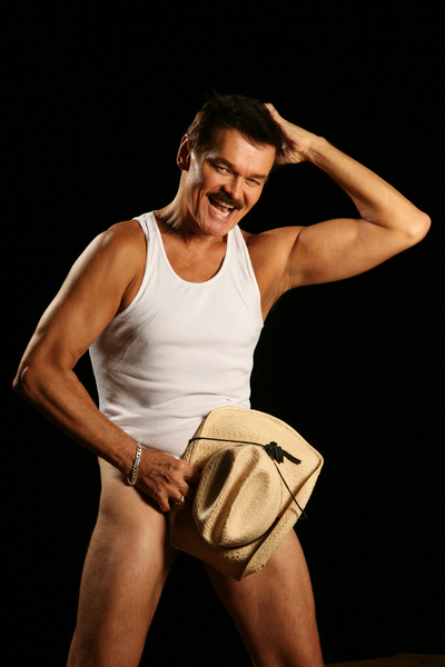 Village People Cowboy in 'Playgirl'