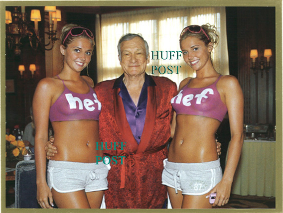 Hugh Hefner's Christmas Card