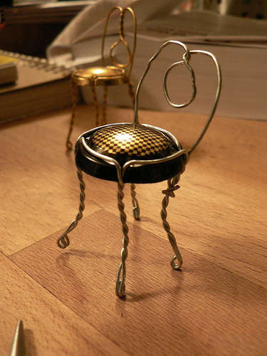 Champagne Cork Holder Chair