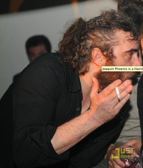 Joaquin Phoenix's Hair Clips