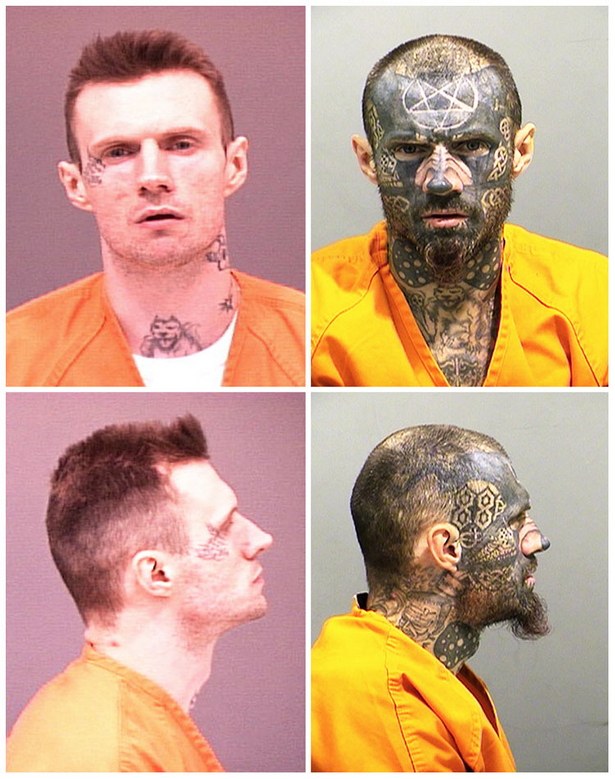 Insane Mug Shot Before and After