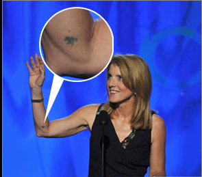Caroline Kennedy's Tattoo