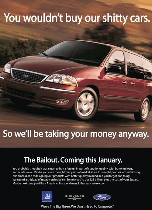 The Bailout (Ad)