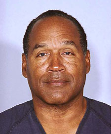 OJ Simpson's Latest Mug Shot