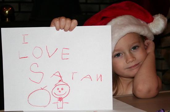 Merry Christmas, Satan