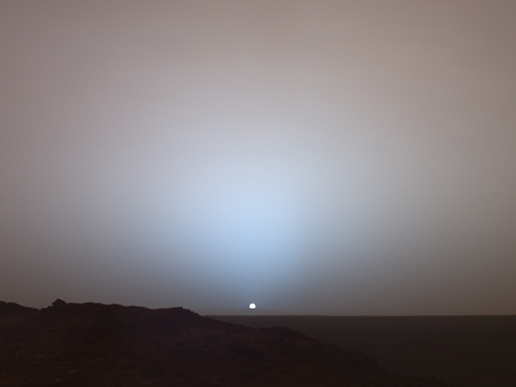 Martian Sunset