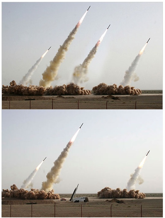 Fake Iranian Missile Photos