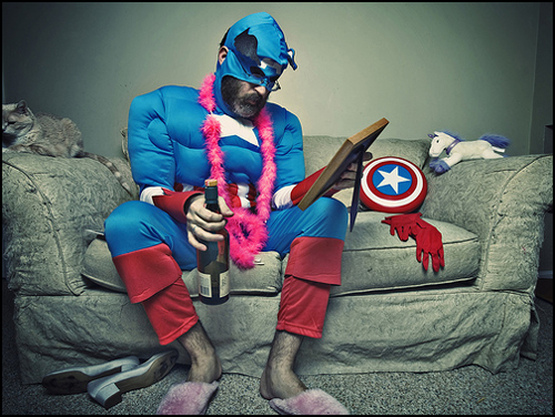 Captain America: Not Doing Too Well