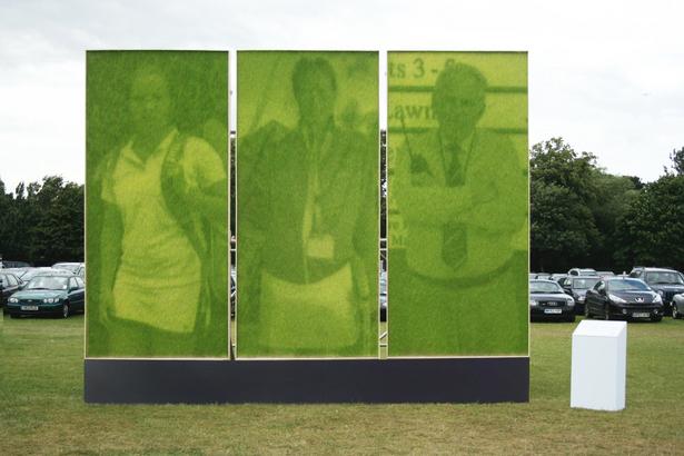 Wimbledon Grass Art