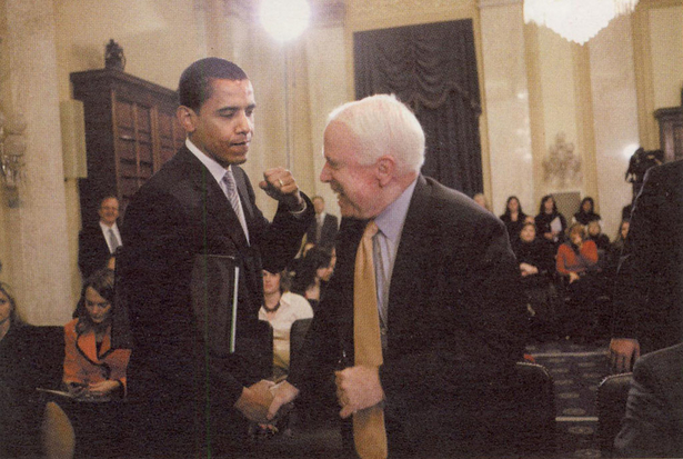 Obama Punching McCain