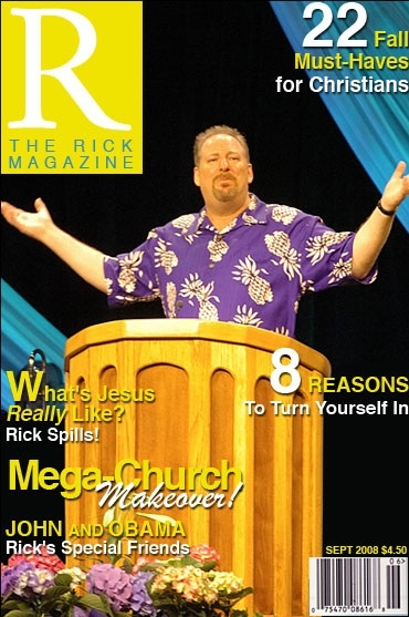 Rick Warren Magazine
