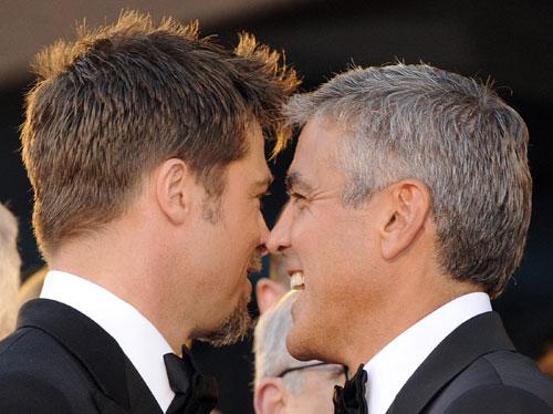 Clooney-Pitt Bromance