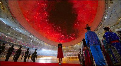 Opening Ceremonies Fireworks