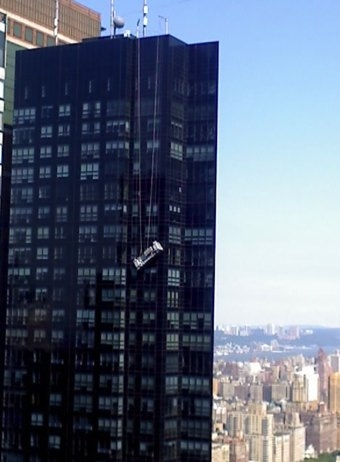 Window Washers Cling For Life In NYC