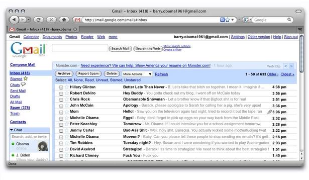 Barack Obama's Emails