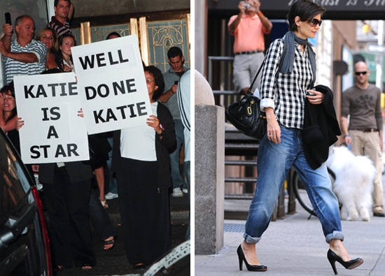 Planted Katie Holmes Fans