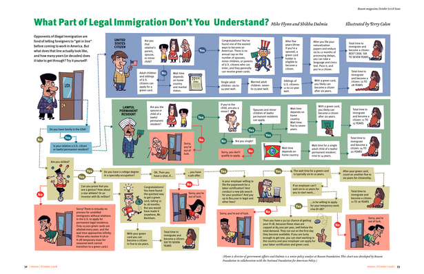 Immigration Flow Chart