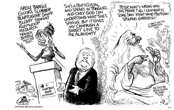 Controversial Palin Cartoon