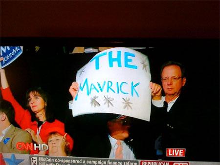 "John McCain, ""Mavrick"""