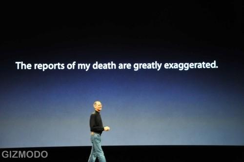 Steve Jobs Not Dead