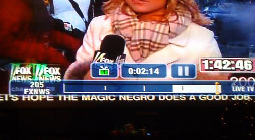 """Let's Hope The Magic Negro Does A Good Job"""