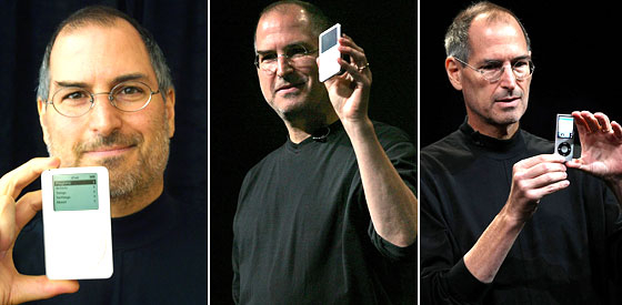 Steve Jobs, Shrinking Along With the iPod