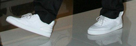 Kanye's Louis Vuitton Sneakers