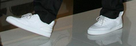 Kanye's Louis Vuitton Sneakers