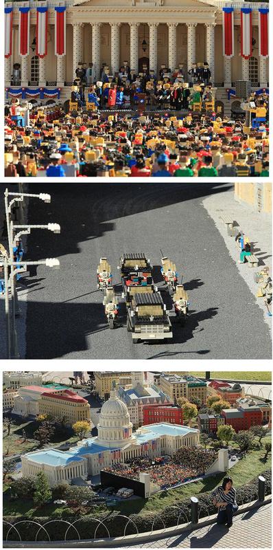 Obama's Lego Inauguration