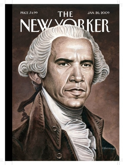 Obama Portrait for the New Yorker