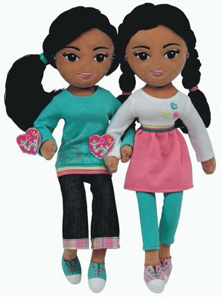 Sasha and Malia Obama Dolls
