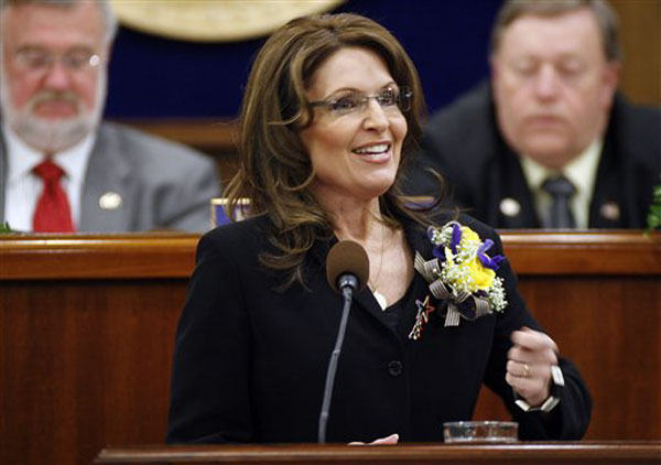 Sarah Palin's Corsage