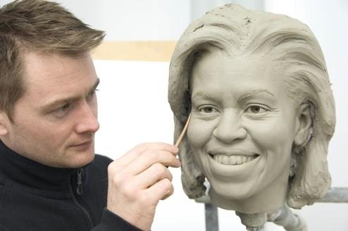 Wax Michelle Obama