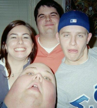 Man Looks Like Thumb