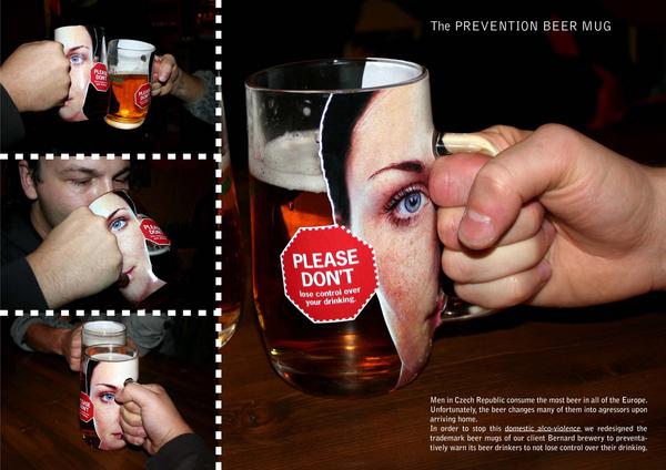 The Prevention Beer Mug