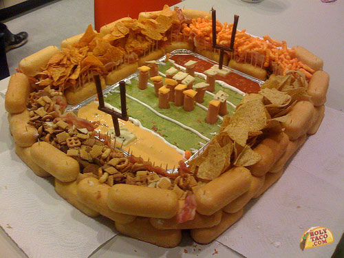 Snack Food Football Stadium
